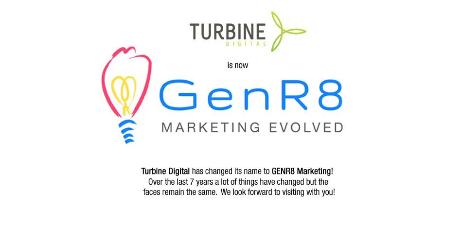 Turbine is now GENR8 Marketing